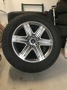 Mags Ford F150 OEM avec pneus Hankook Dynapro