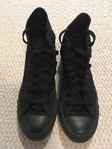 Converse Shoes - Black High Tops