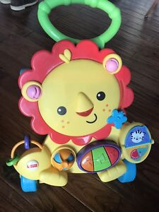Fisher-Price activity musical lion walker