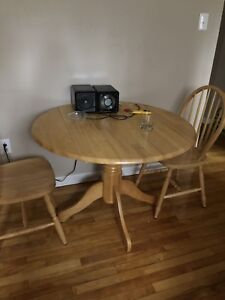 Table and 4 chairs.    SOLD!!