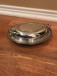 Pure Silver Serving Platter