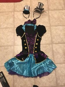 Alice in wonderland and The mad Hatter costume