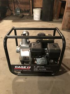 New 3 inch case ih water pump