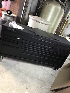 Snap on tool box custom black on black