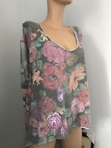 FREE PEOPLE Size L Floral Sleeveless Shirt - We The Free