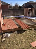 Fences, decks and patios