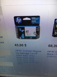 Cartouche encre HP