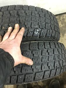 2 215/70R15 winter tires