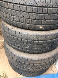 235/65R17 All season Tires $200