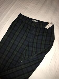 Pants from Hollister, blue and green chekered