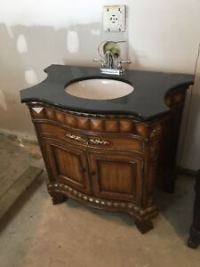 Bathroom cabinets with sinks like new
