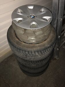 """Bmw winter kit for sale 16"""" 205/55r16"""