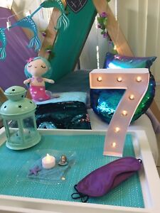 Mermaid Themed Teepee Slumber Party Hire Upper Coomera Gold Coast North Preview
