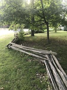 Century old Farm Posts and Railings