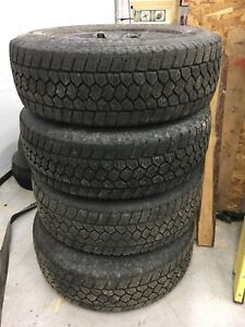 Chevrolet/GMC truck wheels and tires LT245/70R17