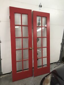 2 - 24 inch French doors