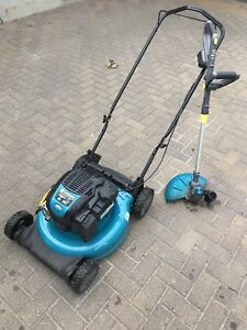Yard works 163cc 3 in 1 gas lawn mower and 24V whipper snipper