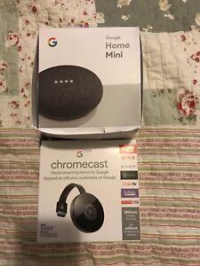 Google home and chrome cast