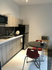 Subletting FURNISHED CONDO ROOM-- MAY 1st