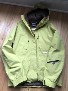 New Lime Green Westbeach Snowboarding Jacket