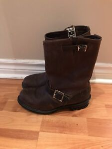 Frye engineer boots size 9