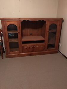 Solid Television cabinet Invergowrie Uralla Area Preview