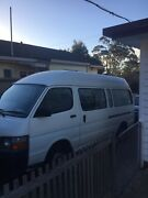 2002 hiace van Round Hill Burnie Area Preview