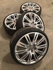 "Mags Audi S7 S8 20"" Pirelli 255/30/20 PZero RFT"