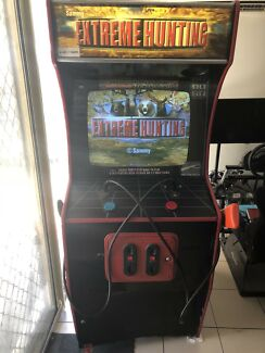 EXTREME HUNTING ARCADE MACHINE WORKS WELL
