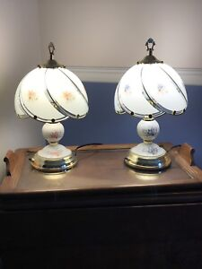 Two Small Lamps
