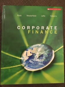 Corporate Finance Textbook (Ross 7th Canadian Edition)