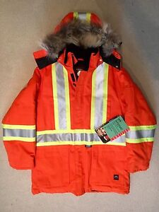 Brand new high vis parka clearance