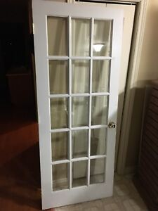 "32"" Right Handed French door with hardware"
