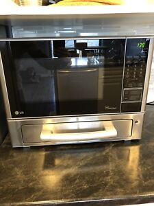 Microwave Oven with separate Oven Drawer