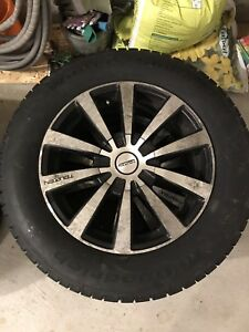 Winter tires with rims - set of 4 - 225/65R17