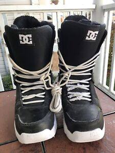 DC Snowboard Boots Size 10 1/2