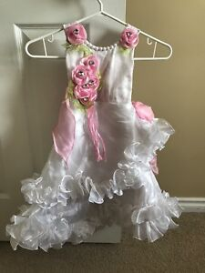 Beautiful gown, perfect for her first birthday '