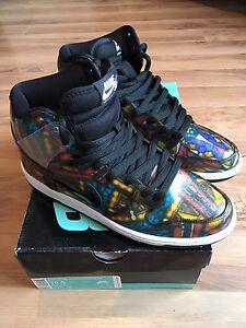 NIKE DUNK HIGH SB PREMIUM CONCEPTS STAINED GLASS shoes
