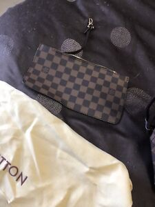 Louis Vuitton tote bag with clutch