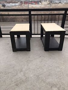 Work tables $15