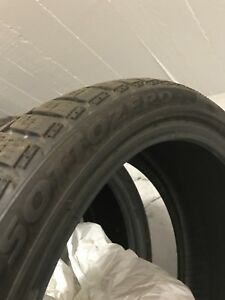 225/40 R18 Winter tires (4 tires/ 4 pneus) Neg
