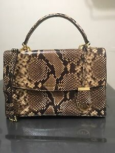 Michael Kors Medium Ava - Embossed Leather