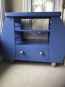 Child's bookcase and TV stand