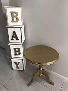 Baby shower prop package for HIRE Doonside Blacktown Area Preview
