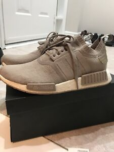 French Beige Adidas NMD Size 9.5 9/10