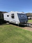 Kingdom endeavour triple bunk 21ft  caravan Edgeworth Lake Macquarie Area Preview
