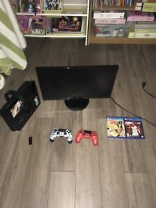 Complete PS4 System with accessories!