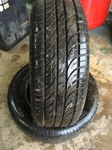 205/65R15 MIRAGE MR-162 - A Pair (2) of used tires