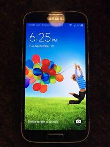 Samsung S4, 16GB, unlocked