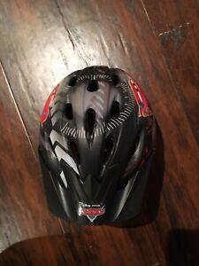 Bike helmet, Cars theme